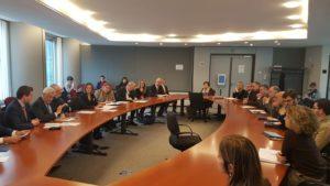 Reunión con Comisión Agricultura del Parlamento